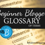 Blogger Glossary of Terms
