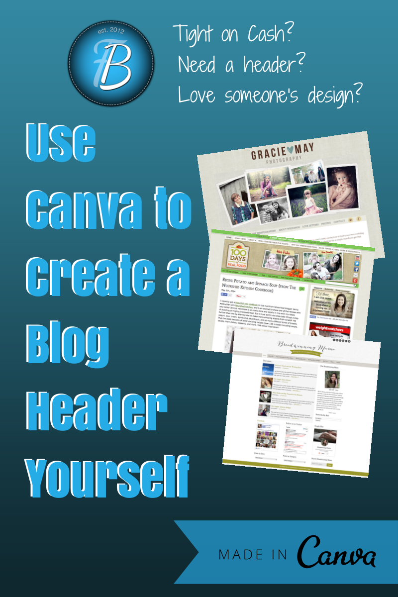 Using Canva to Create a Header for Your Blog