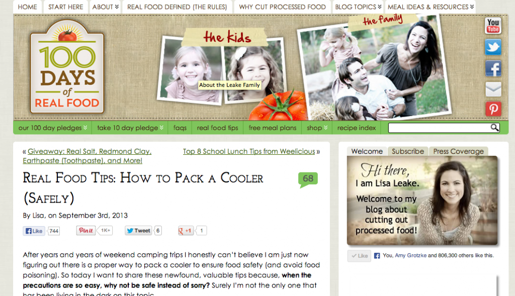 This post about how to pack a cooler safely is a perfect example of a specific tutorial.