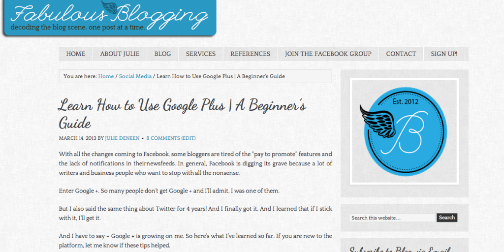 My article on Google plus brings in about 60% of my search engine traffic.