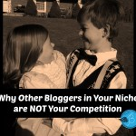 Why Other Bloggers in Your Niche are NOT Your Competition