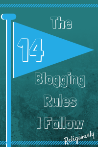 14Blogging Rules