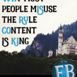 "Why Most People Misuse the Famous Rule ""Content is King"""