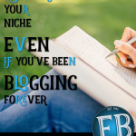 Discovering Your Niche, Even if You've Been Blogging Forever