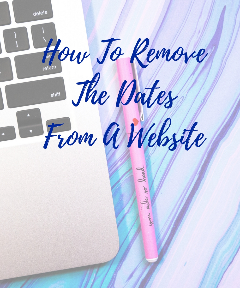 How to remove dating sites