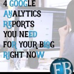 4 Google Analytic Reports You Need to Be Using For Your Website