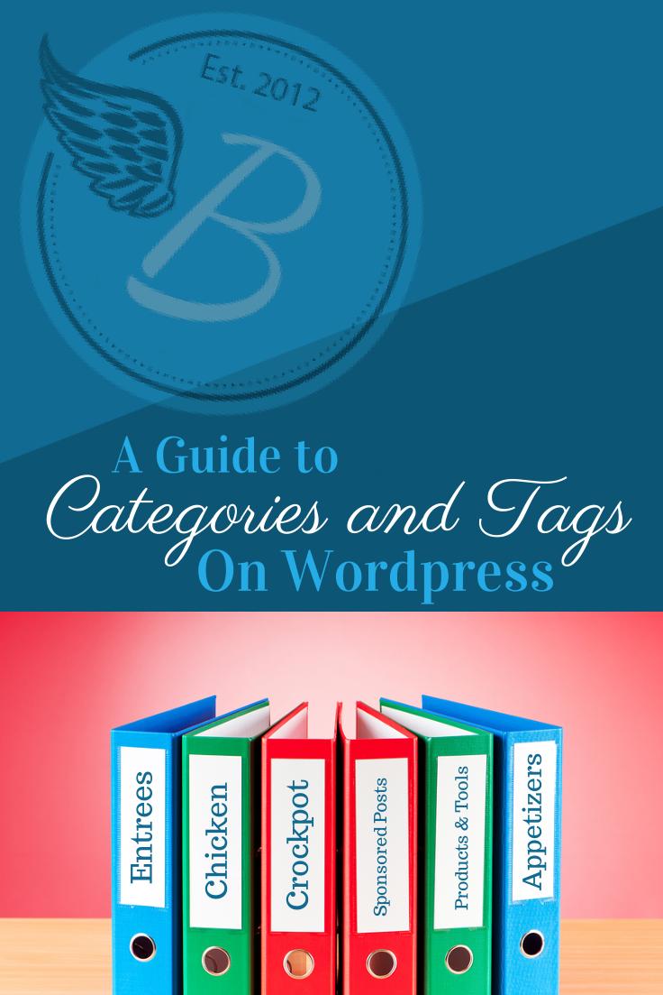wordpress blog categories