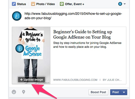 How to Get Facebook to Pull the Correct Image for Your Blog